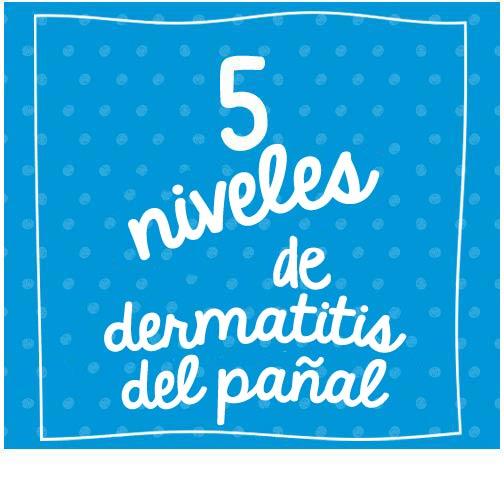 5 niveles de dermatitis del pañal